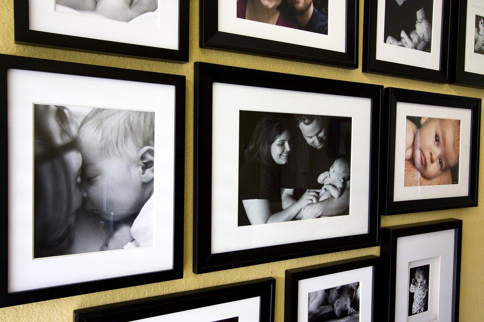 Fotorámečky na zeď