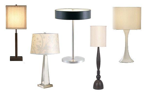 Originální lampičky do ložnice