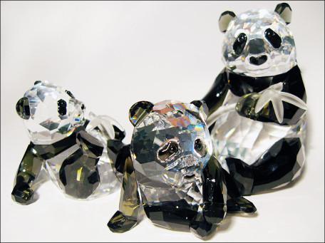 panda swarovski